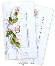 свадебные пригласительные на заказ киев